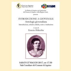 """Aquino – Presentazione del volume """"INTRODUZIONE A GIOVENALE"""""""