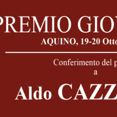 Premio Giovenale XV EDIZIONE 19-20 ottobre 2019 Aquino (FR)