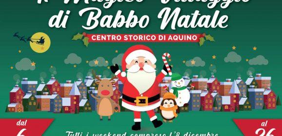 Il Magico Villaggio di Babbo Natale 2021 – Aquino