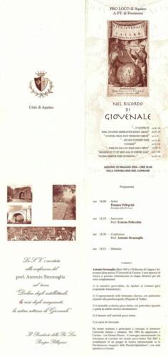Juvenaliana - 2004