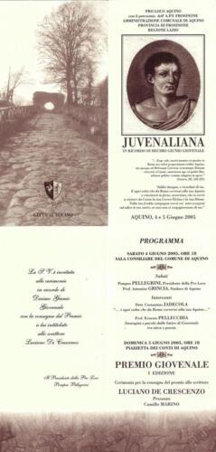 Juvenaliana - 2005