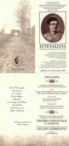 Juvenaliana - 2006