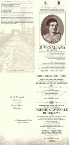 Juvenaliana - 2007