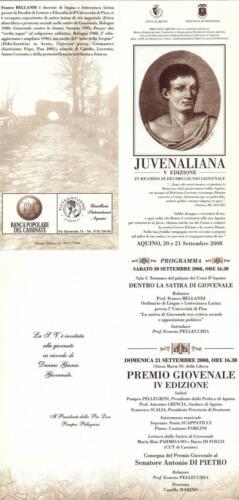 Juvenaliana - 2008