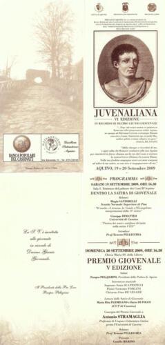 Juvenaliana - 2009
