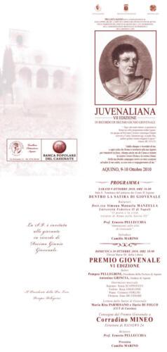 Juvenaliana - 2010