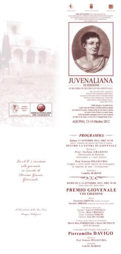Juvenaliana - 2012
