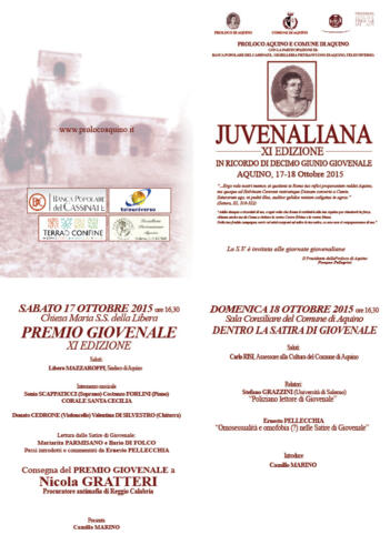 juvenaliana - 2015