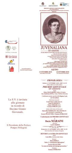 juvenaliana - 2018